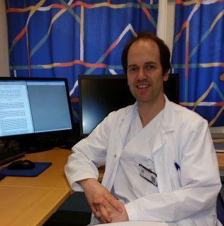 VIL BEHANDLE: Den beste behandlingen vi kan tilby er mye dårligere enn Perjeta, sier overlege Bjørnar Gilje ved Stavanger Universitetssykehus.