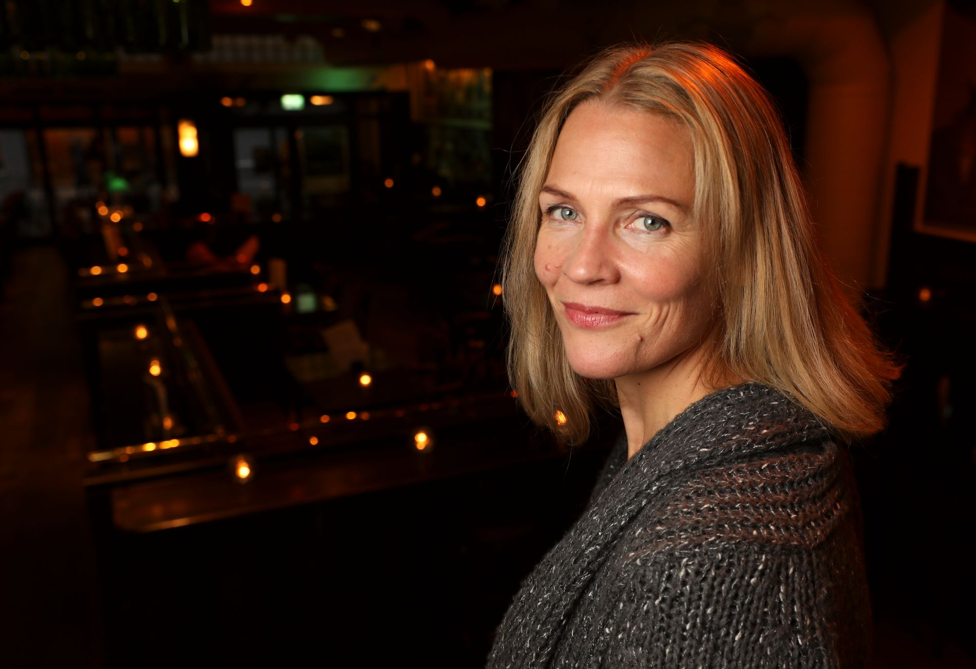 HAR SOLGT: Ifølge megler er Åsne Seierstad fornøyd med salget. Her er hun avbildet i forbindelse med boklansering i 2016.