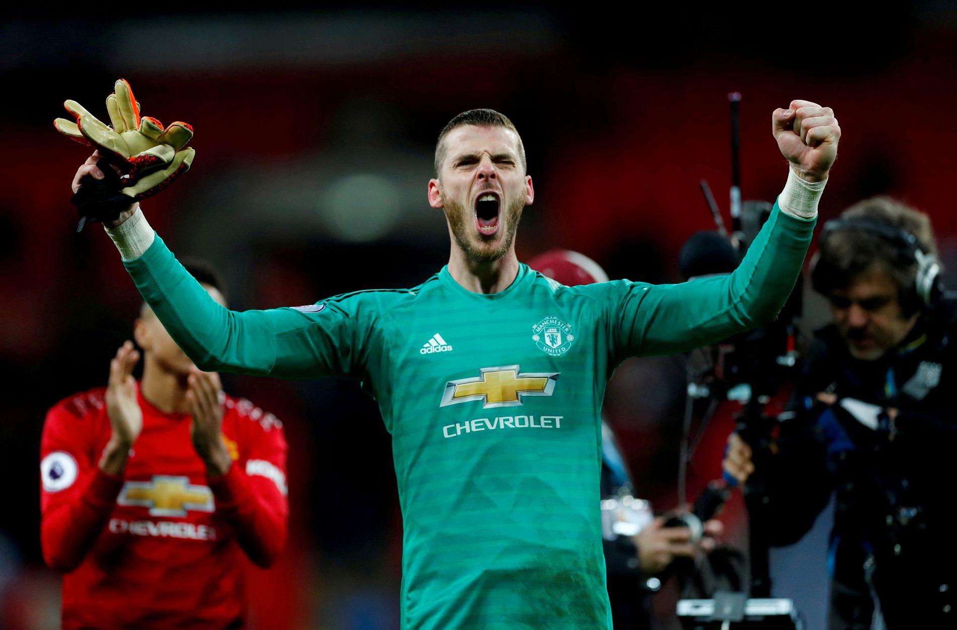 NØKKELSPILLER: David de Gea, Manchester United.
