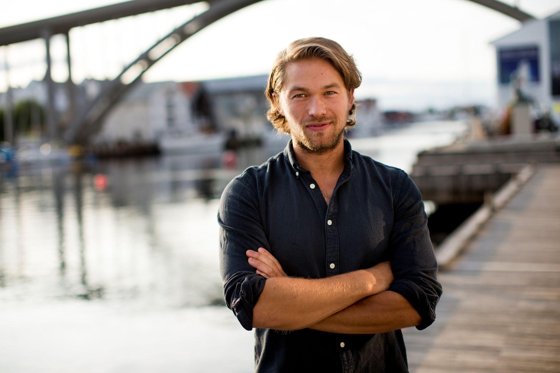 HÅPER PÅ  Å BLI HELT BRA IGJEN:  Skuespiller Jakob Oftebro, her under filmfestivalen i Haugesund i fjor.