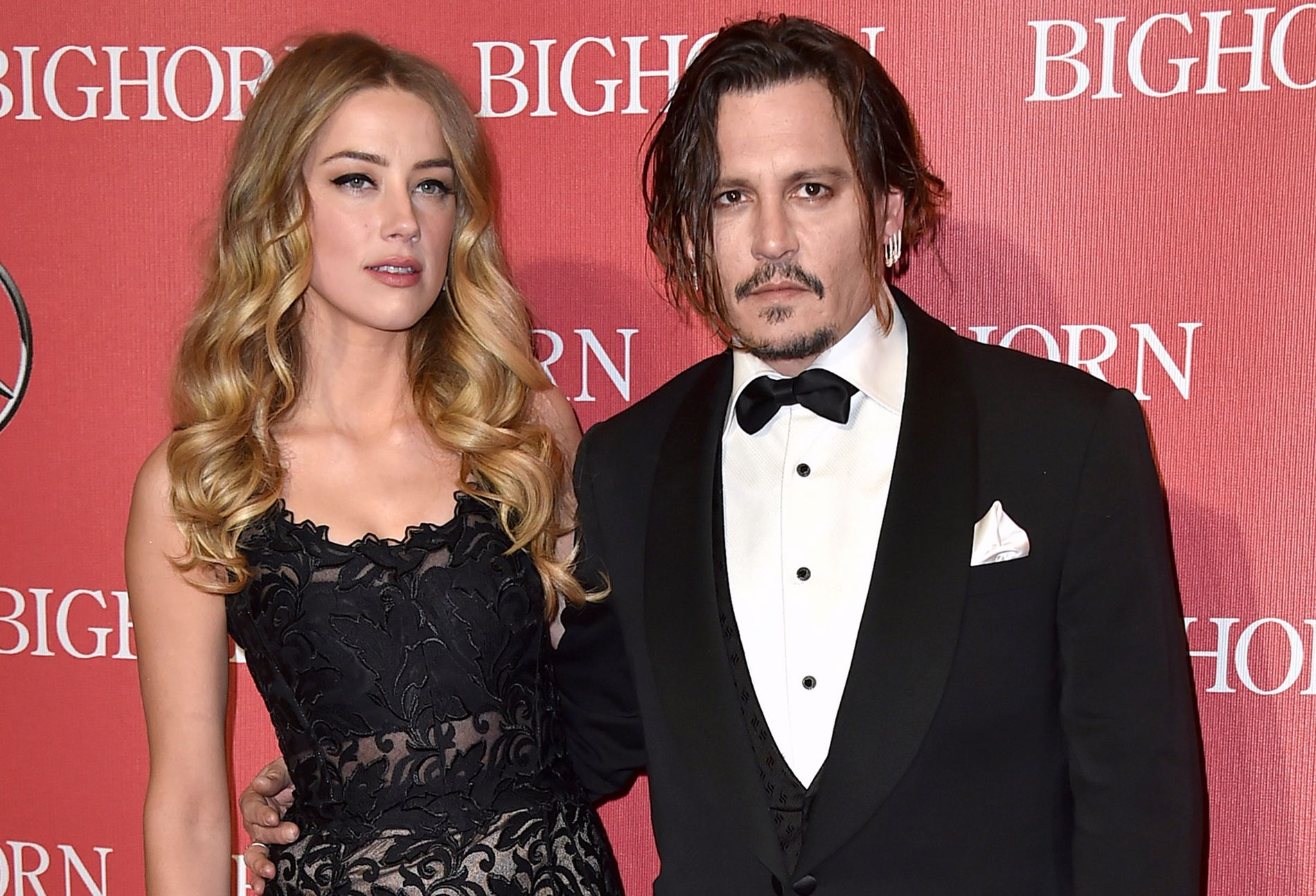 EKS-PAR: Amber Heard og Johnny Depp på Palm Springs International Film Festival Awards bare fem måneder før bruddet i 2016.