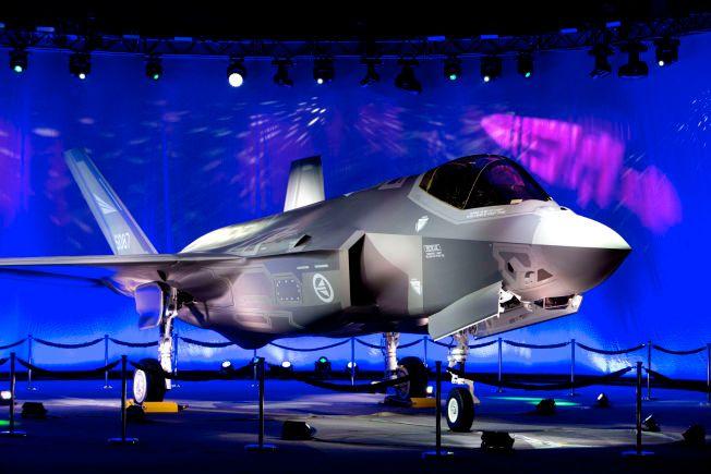 FØRSTE NORSKE: Dette F-35-flyet skal nå flys til Arizona for opplæring og trening av norsk mannskap. Planen er at de første norske flyene skal sette hjulene på norsk jord i slutten av 2017.