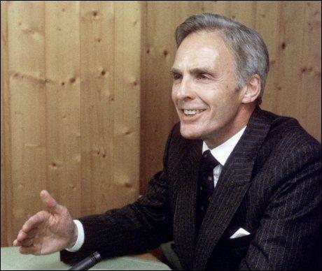 TIDLIGERE DIREKTØR: Pål Kraby var fra 1977 til 1986 administrerende direktør i Norsk Arbeidsgiverforening. Dette bildet er fra 1986. Foto: Nils Bjåland