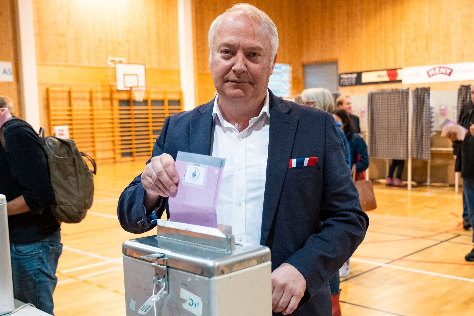 STOR I KRISTIANSAND: Demokratenes Vidar Kleppe er inne sammen med ti andre kandidater i Kristiansand bystyre.