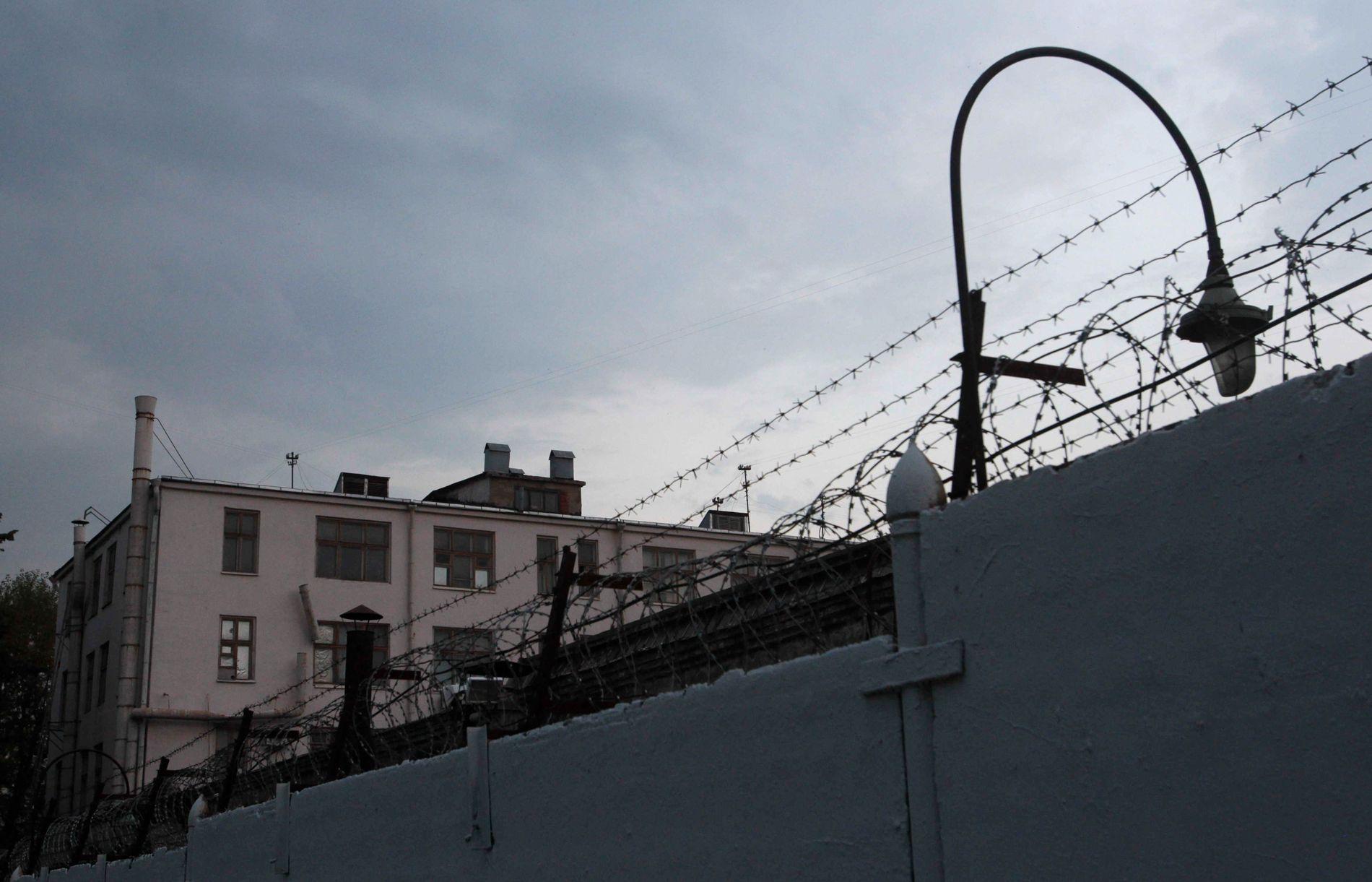 BERYKTET FENGSEL Innenfor disse veggene sitter den 62 år gamle pensjonerte grenseinspektøren Frode Berg fengslet, ifølge familiens advokat. Alle som pågripes av russisk sikkerhetspoliti bli plassert her.