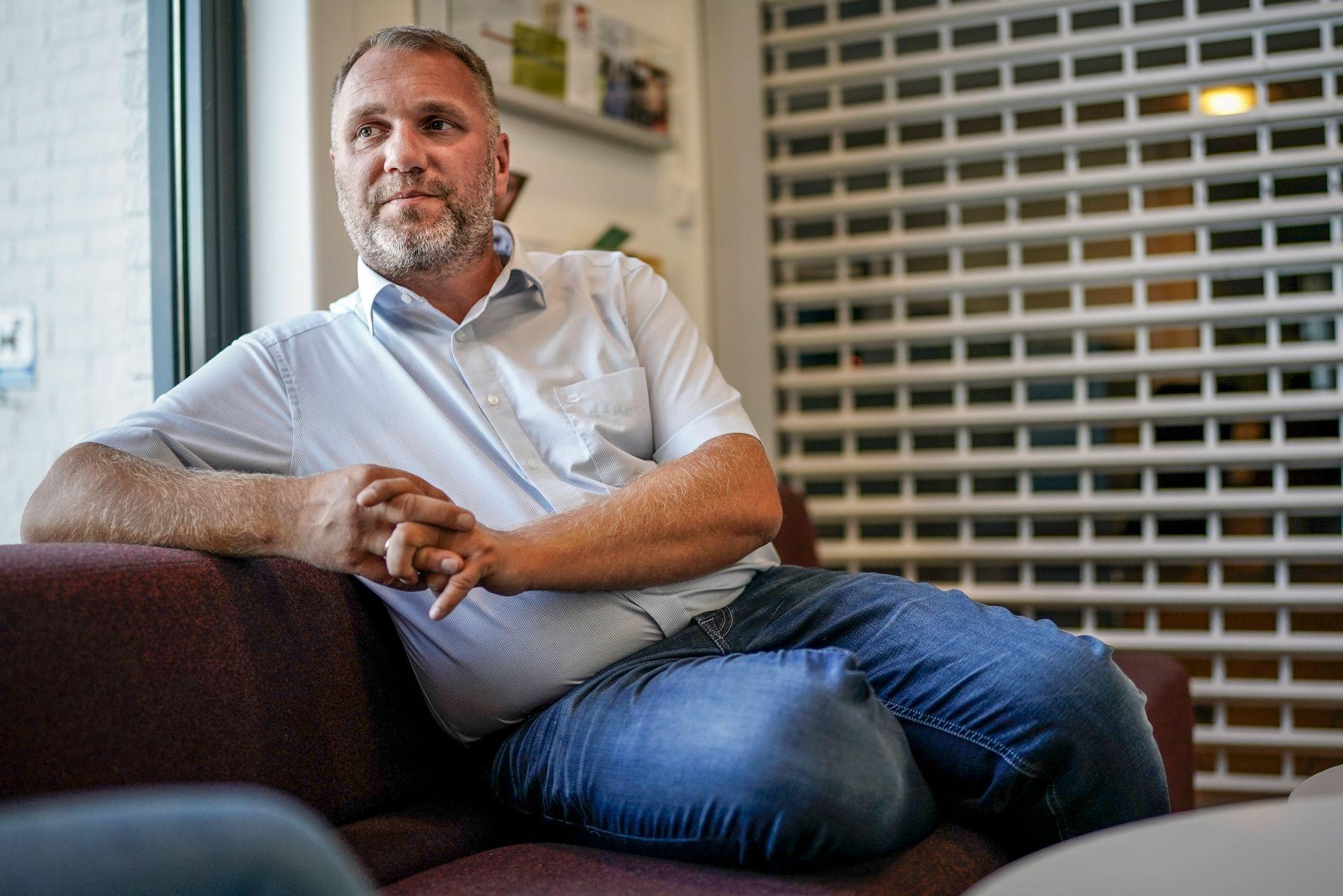 PREGET: Varaordfører Ole Herman Sveian (Sp) tror det kommer til å bli noen rare dager etter at hans kollega gikk bort.