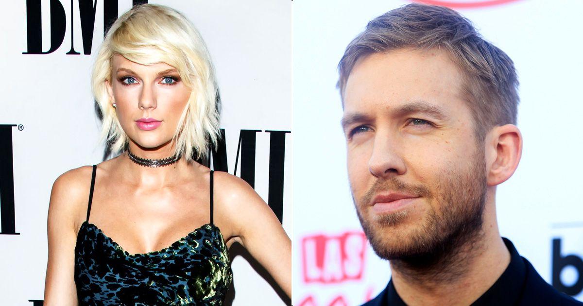 IKKE MER SØT MUSIKK: Etter et drøyt år som kjærester, skal det nå være slutt mellom Taylot Swift (25) og Calvin Harris (32).