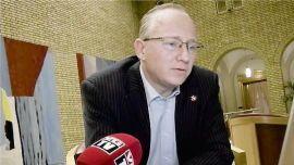 TAUS: Fremskrittspartiets Gjermund Hagesæter vil ikke delta i debatten om formuesskatten.