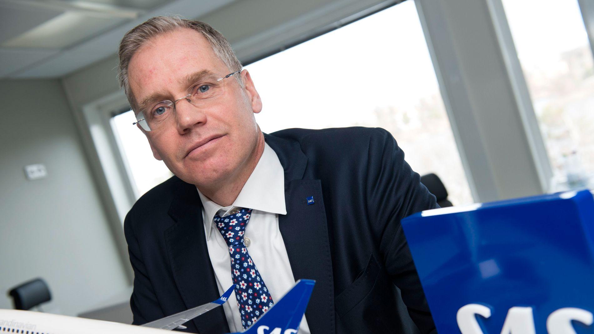 DYPT BEKYMRET: SAS-sjefen sier han er bekymret over at streiken ikke er løst. Selskapet innstiller nå 504 avganger over hele Skandinavia onsdag.