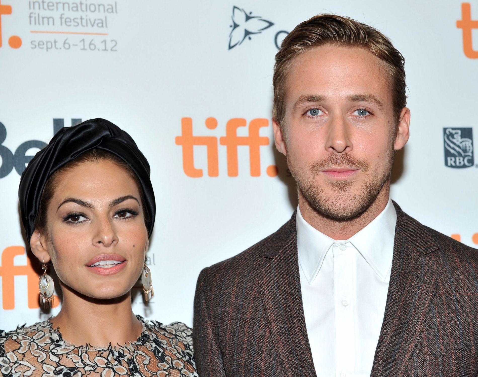 2012: Eva Mendes og Ryan Gosling på premieren til «The Place Beyond The Pines» i Toronto for snart fem år siden.