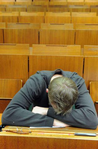 UTBRENT:  For mange studenter blir kravene for tøffe.