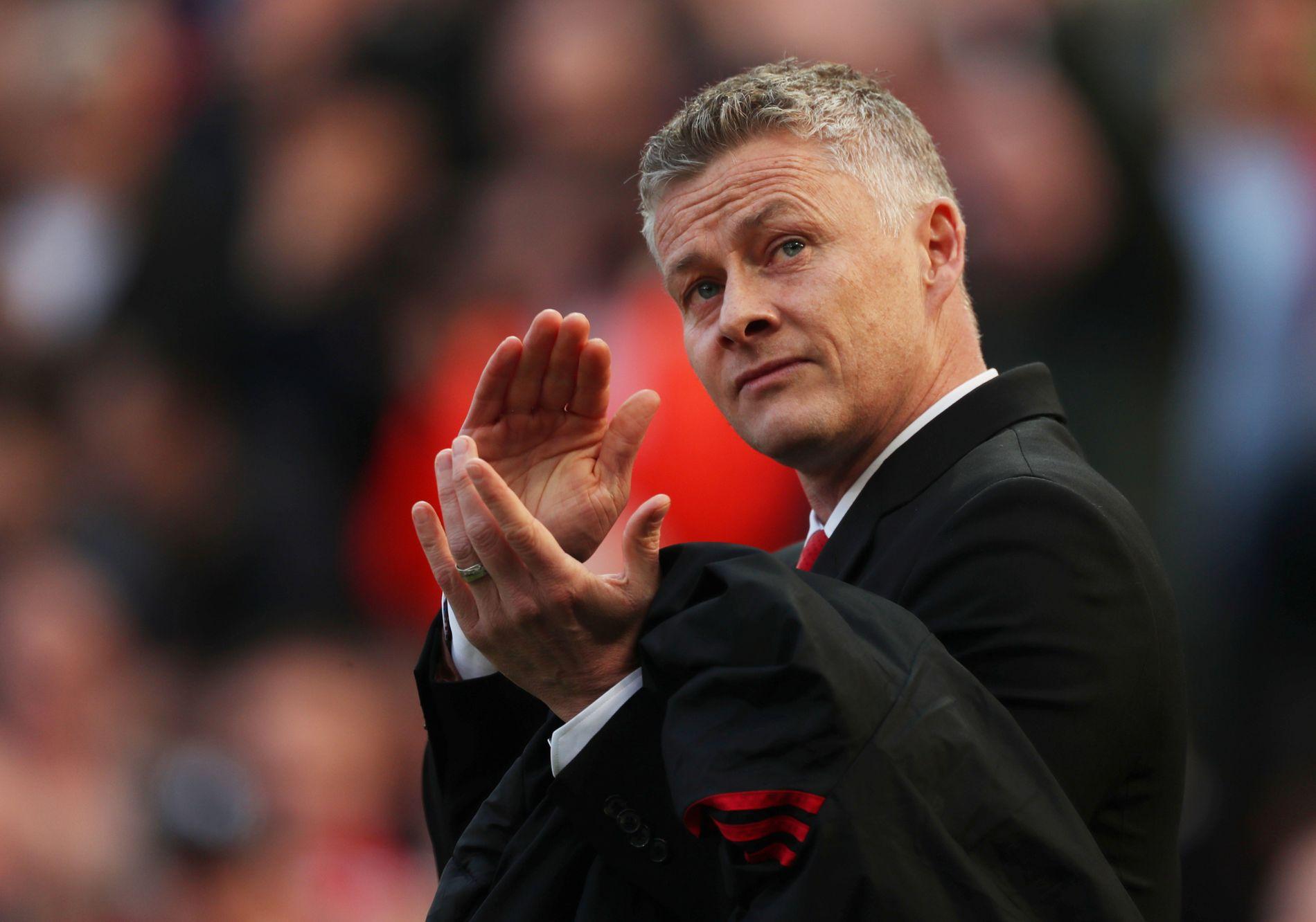 POPULÆR: Ole Gunnar Solskjær er elsket av fansen på Old Trafford.