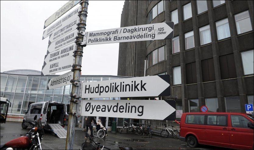 NYTT SYKEHUS RAMMET: Nordlandssykehuset er rammet av en rystende sak, der kirurger har operert i strid med retningslinjene. Foto: Terje Mortensen/VG Foto: