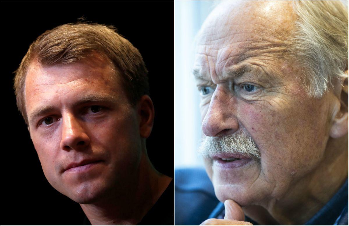 ORDVEKSLING: Edvald Boasson Hagen virket ikke veldig fornøyd med kritikken fra Johan Kaggestad.