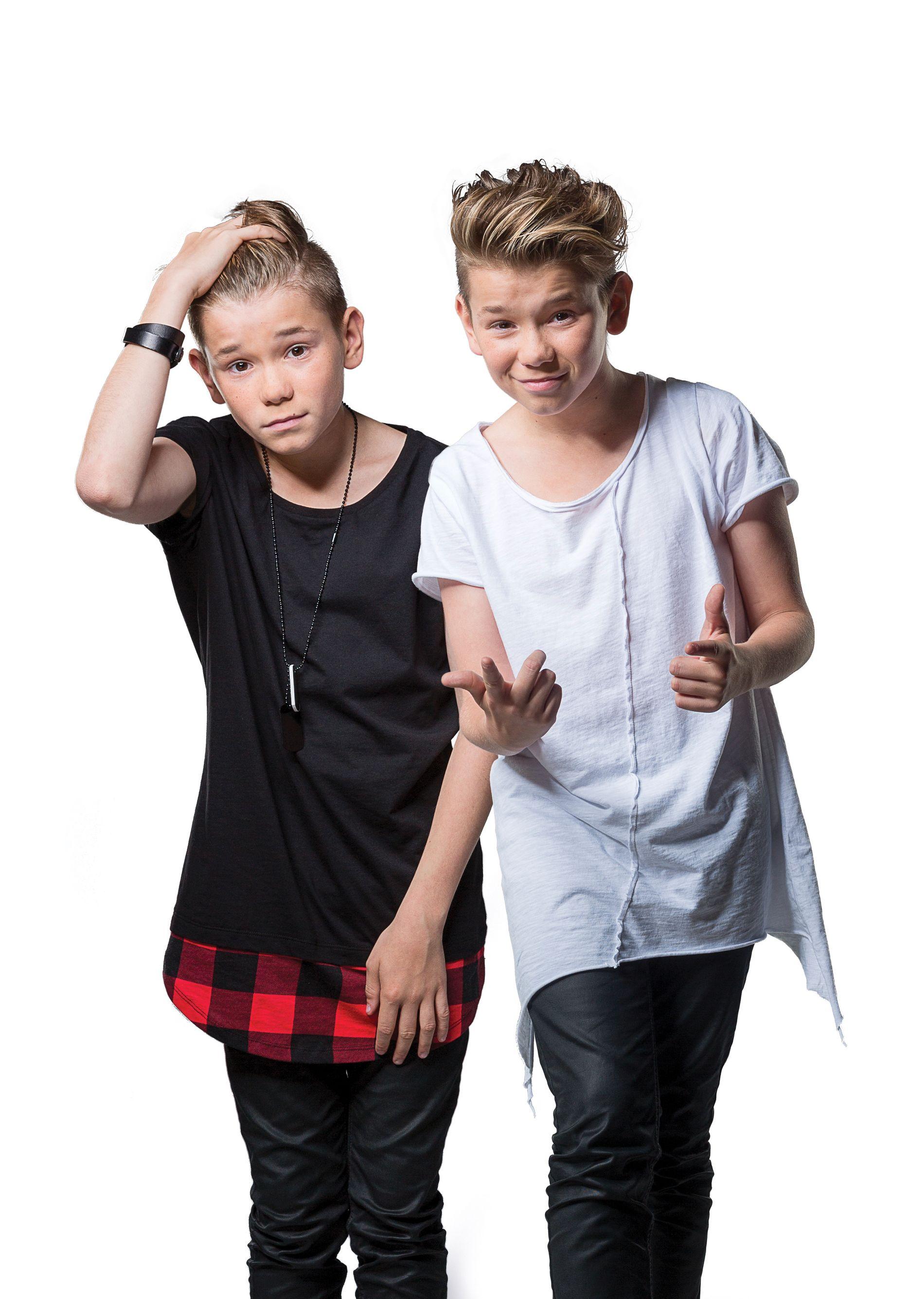 FUNGERTE BEST: Marcus & Martinus i 2015, da de ga ut «Elektrisk», deres mest populære låt både på YouTube og Spotify, og deres største hit i Sverige. Foto: SONY
