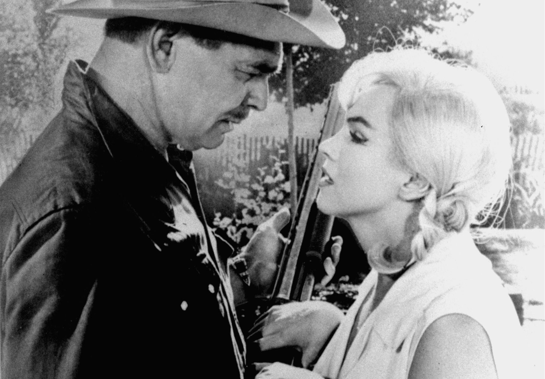 LEGENDER: Clark Gable og Marilyn Monroe i «The Misfits».