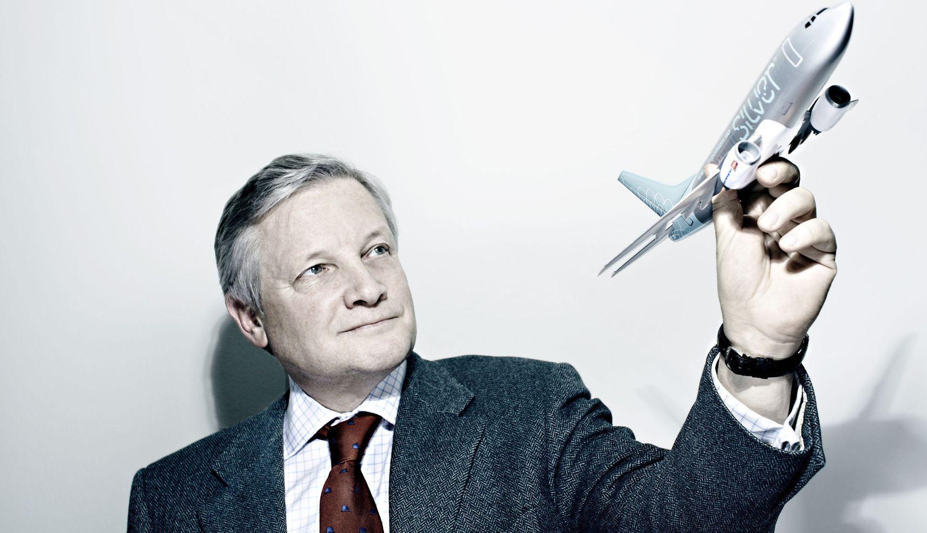 BLIR SATT UNDER ADMINISTRASJON: Administrerende direktør Mikkel A. Berg og Silver Pensjonsforsikring.