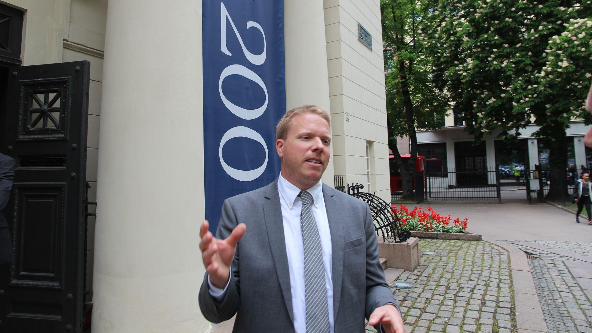 FORTSETTER VEKSTEN: Ice-sjef Eivind Helgaker leder Norges tredje største mobilselskap og han kan vise til kraftig vekst.