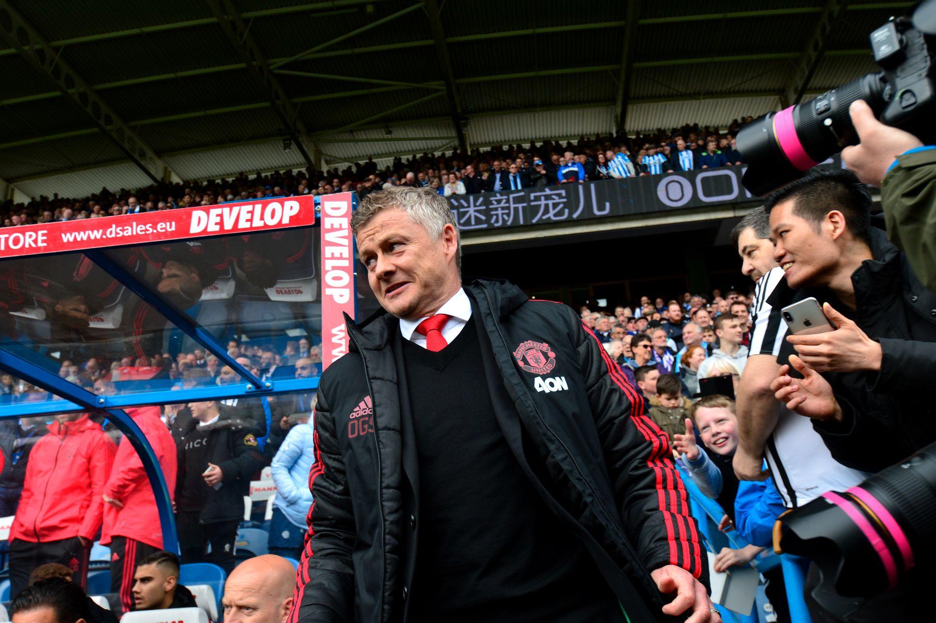 PRESSET: Ole Gunnar Solskjær har havnet i medienes søkelys etter Manchester Uniteds svake resultater den siste tiden.