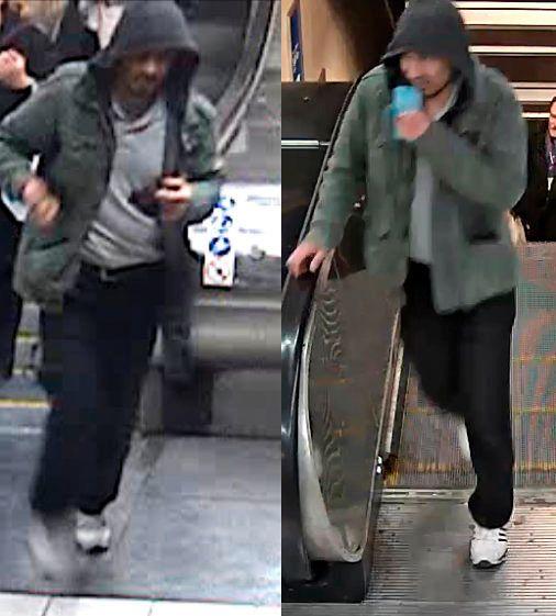 GJERNINGSMANNEN: Svensk politi etterlyste denne mannen i forbindelse med lastebilangrepet i Stockholm fredag ettermiddag. Det var disse bildene to vitner skal ha gjenkjent.