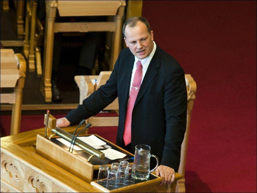 GIR SEG: Etter valget neste år blir ikke Ketil Solvik-Olsen å se som representant for Fremskrittspartiet på Stortinget. Foto: NTB scanpix
