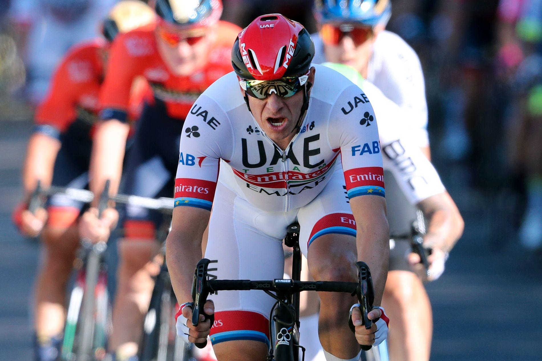 GOD INNTEKT: Alexander Kristoff her under sommerens Tour de France.