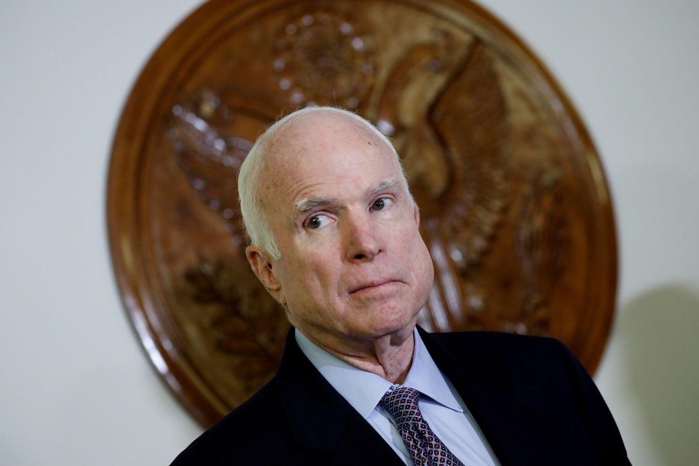 VAR SYK: Senatoren tok selv beslutningen om å avslutte den medisinske behandlingen.