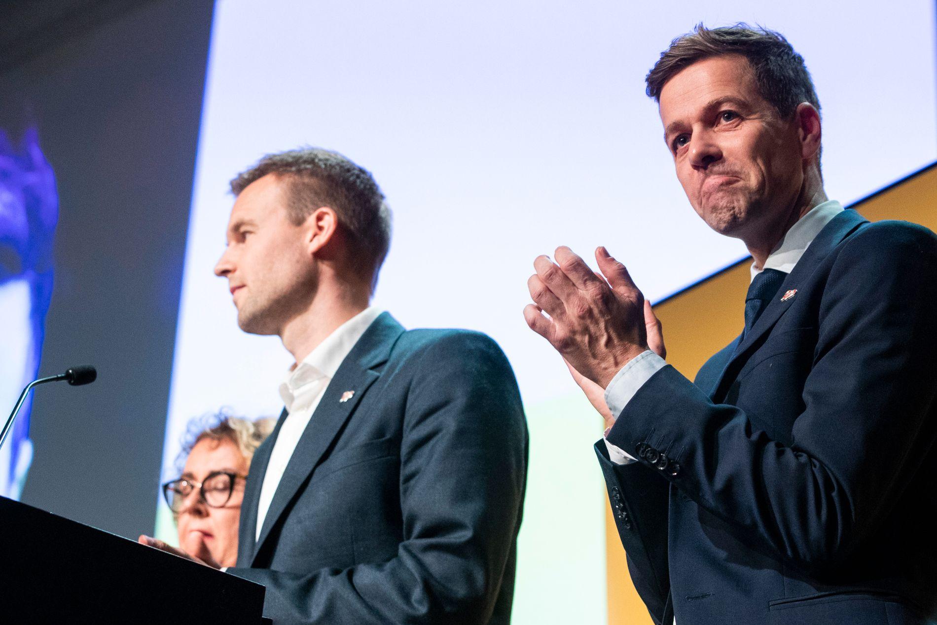 SATSET ALT OG TAPTE: Knut Arild Hareide på partiets ekstraordinære landsmøtet i november.