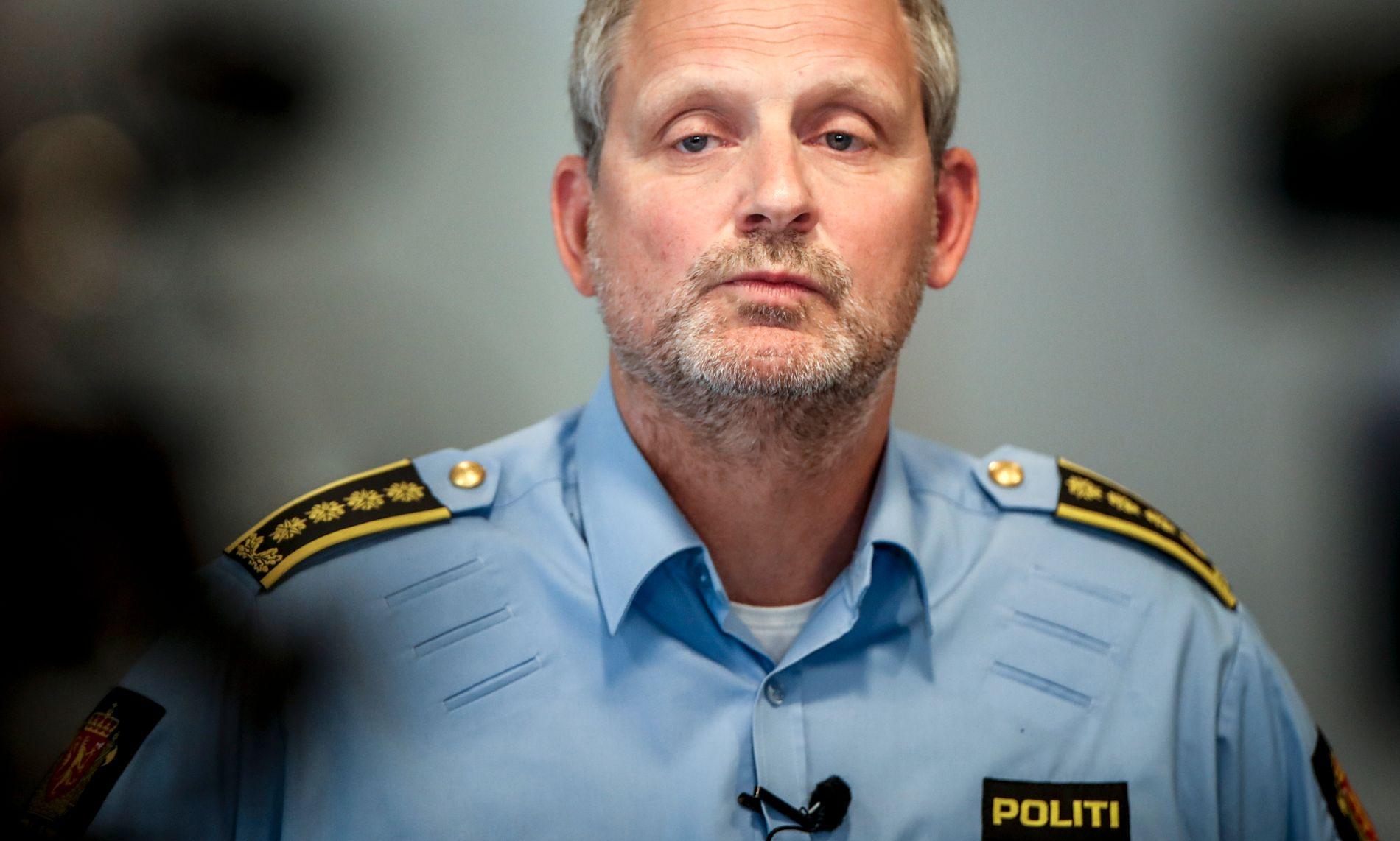 Politiinspektør Tommy Brøske