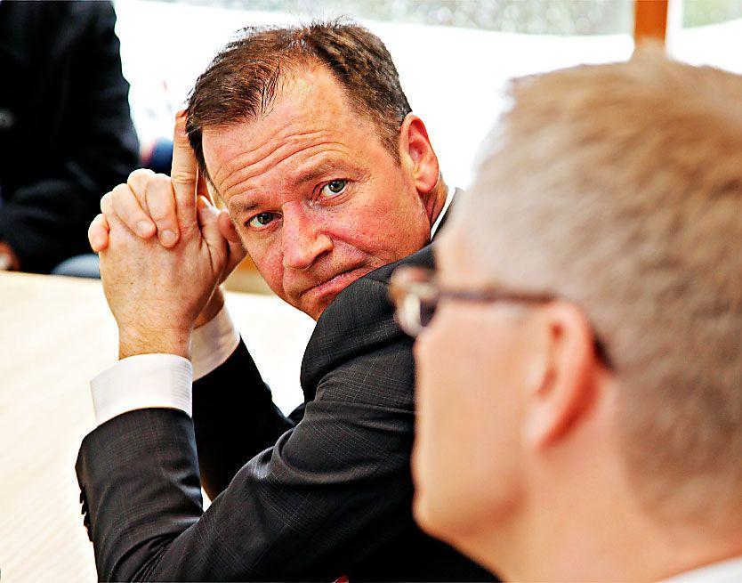 TREKKER SEG: Roger Ingebrigtsen går av som Trond Giskes statssekretær. Foto: Knut Erik Knudsen.