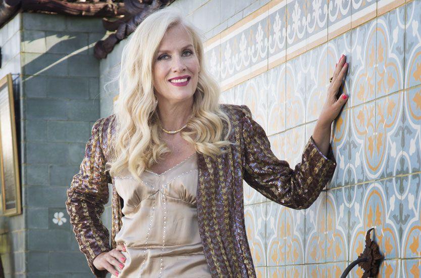 BERG OG DALBANE: Gunilla Persson er kjent for sitt heftige temperament, og i TV-serien får vi være med på hennes oppturer og nedturer. Foto: Thomas Engström, TV3