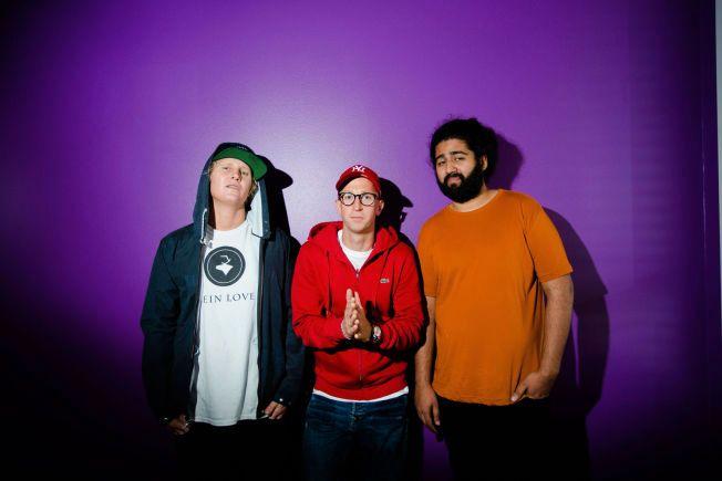 NY JURY: Øyvind «Vinni» Sauvik (t.v.), Gunnar Greve og Sandeep Singh utgjør 75 prosent av neste sesongs Idol-dommerpanel. Foto: ESKIL WIE FURUNES
