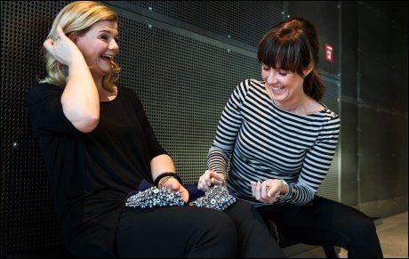 KVINNEN BAK: - Det er essensen av Spellemann-prisen. Metall møter klassisk, sier NRK-stylist Susanne Hoftun. Foto: MARIUS VERVIK