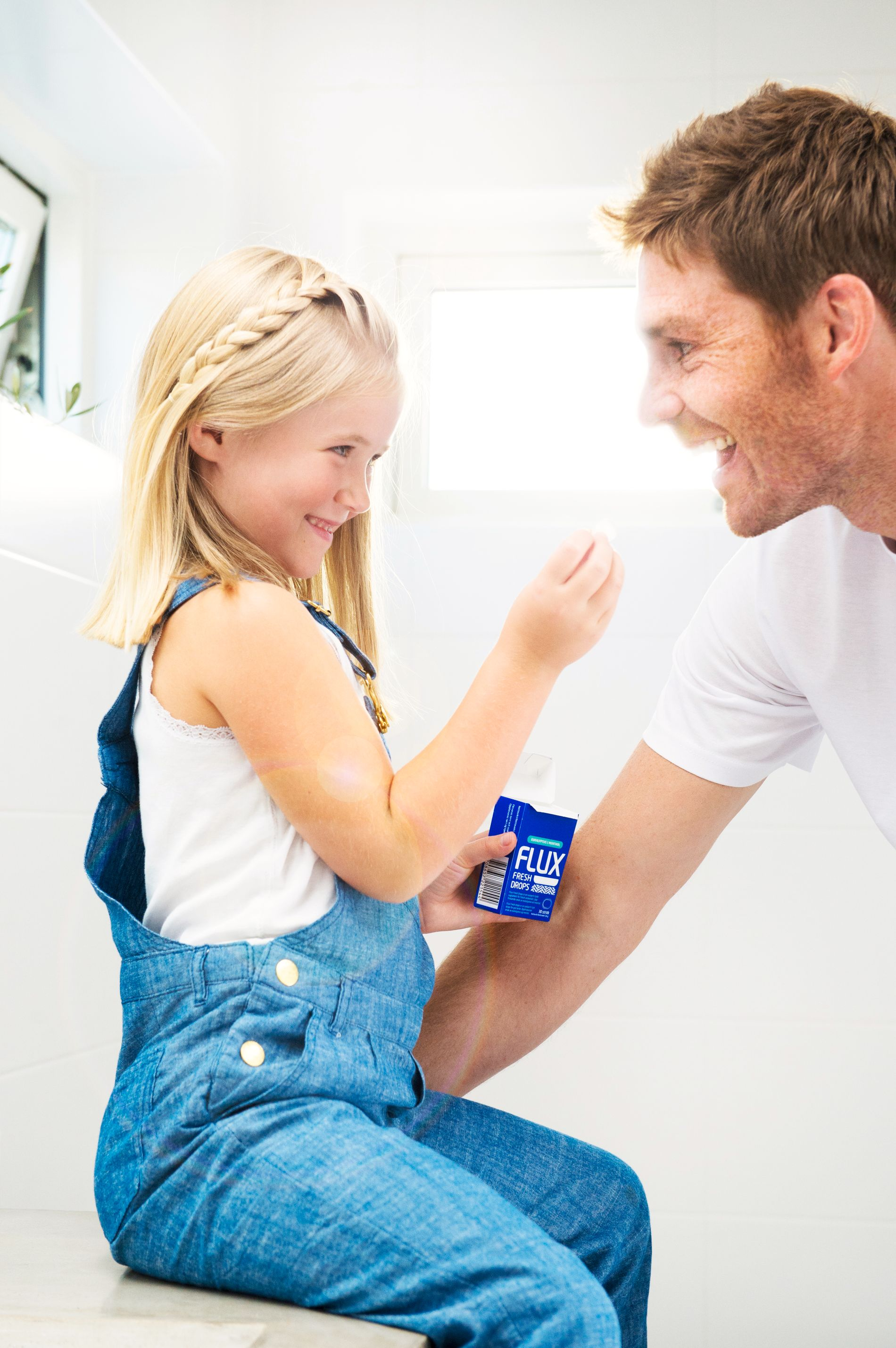 ALDRI FOR TIDLIG: Barn kan begynne med fluor straks de får tenner.