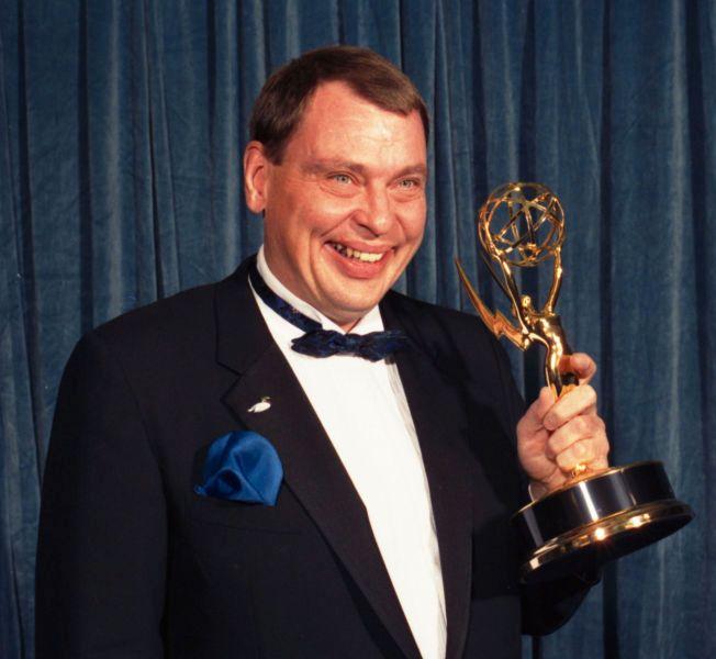 VANT EMMY-PRIS: Larry Drake - best kjent for sin rolle i «Lov og rett i L.A» vant to Emmy-priser for sin innsats i serien. Bildet er fra 1988,