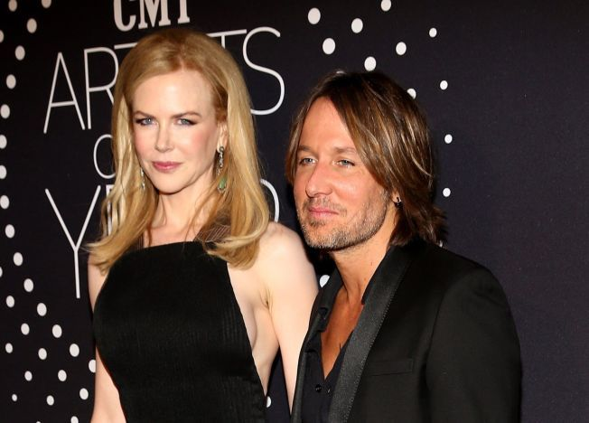 GIFT: Ekteparet Nicole Kidman og countrysanger Keith Urban på rød løper tidligere i år. Sammen har paret to døtre, mens Kidman har to adoptivbarn fra ekteskapet med Tom Cruise.