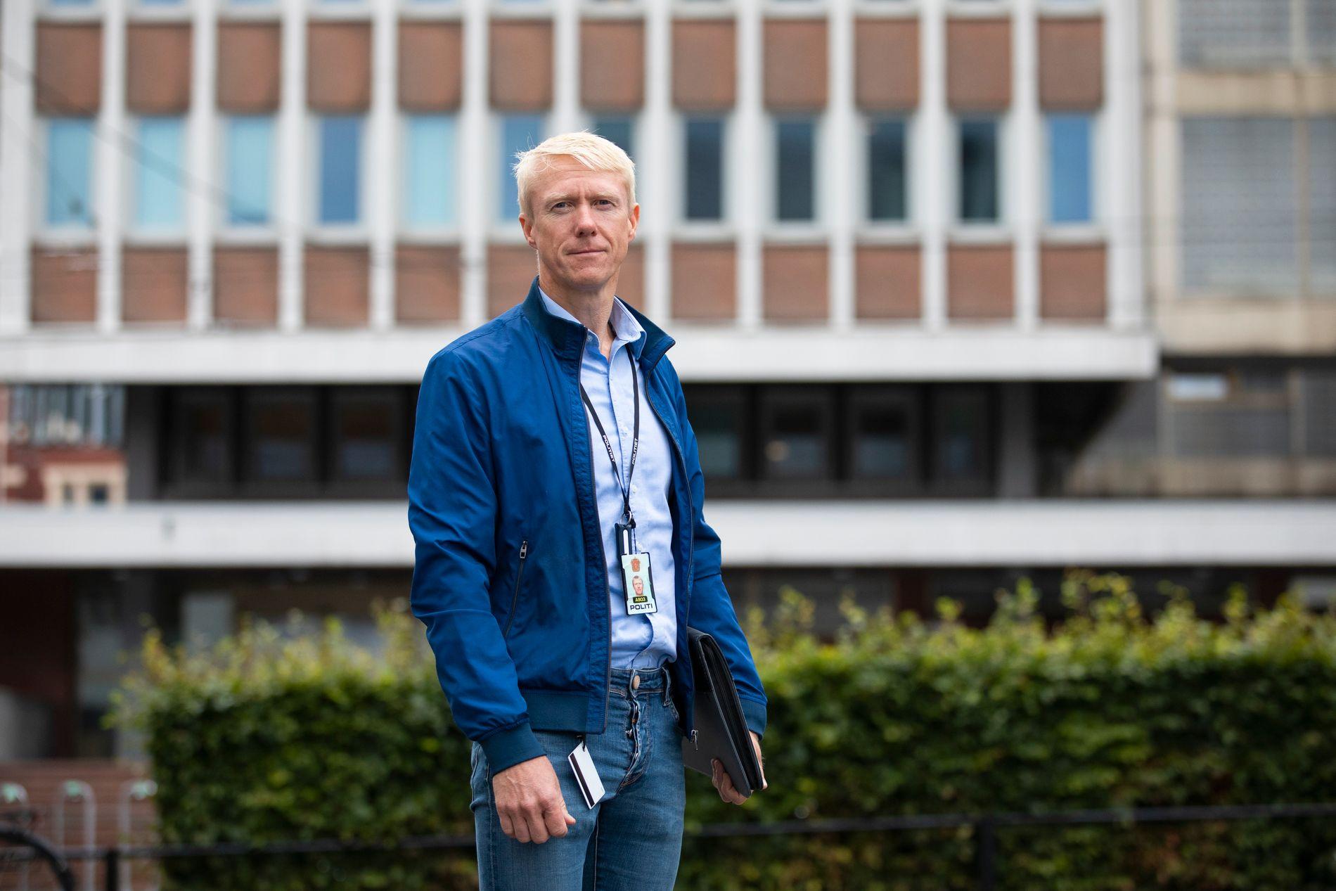 BISTÅR VARSLEREN: Ørjan Hjortland er nestleder i Politiets Fellesforbund i Hordaland. Han sier at varsleren føler seg tvunget til å gå til sivil sak som siste utvei for å bli hørt og få en rettferdig behandling.