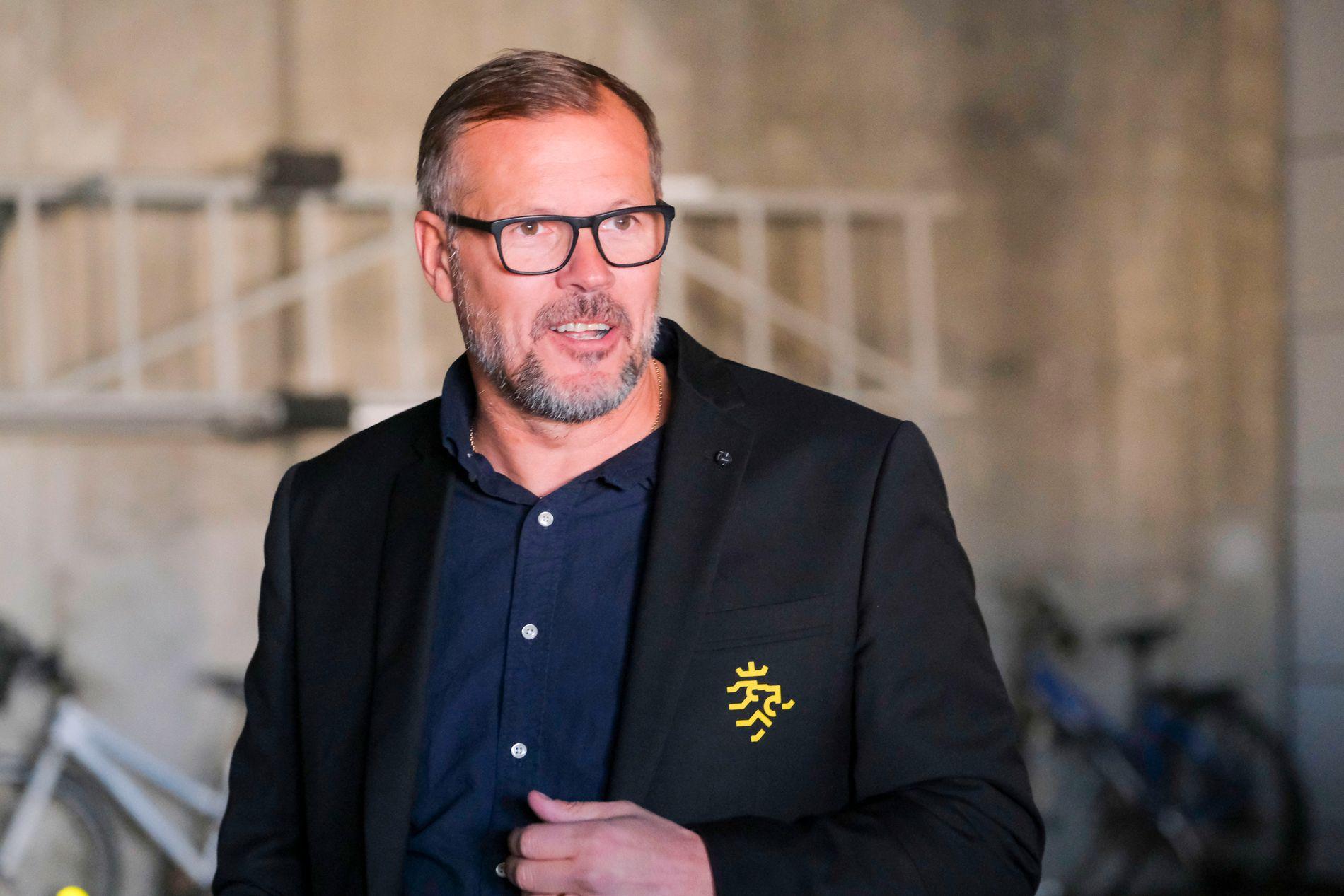 UTTALTE SEG IKKE: Kjetil Rekdal forlot Sør Arena uten å prate med pressen etter 0–1-tapet for Aalesund.