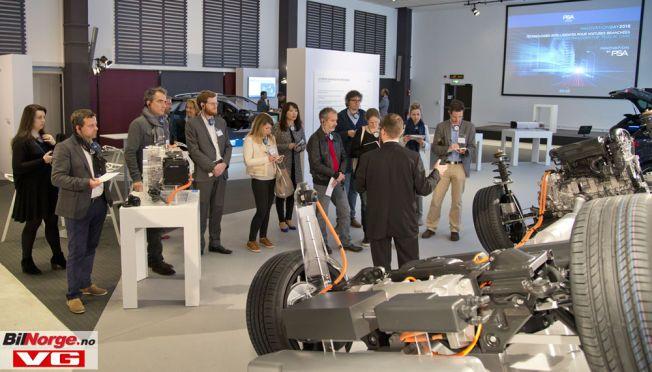 HI-TEC: PSA-gruppen med merkene Citroën, DS og Peugeot har store planer for elektrifisering i fremtiden.