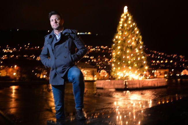 SEIRET: VG's lesere har kåret politietterforskeren Robin Schaefer til Årets navn 2015. Her på Festplassen i Bergen tidligere denne uken.