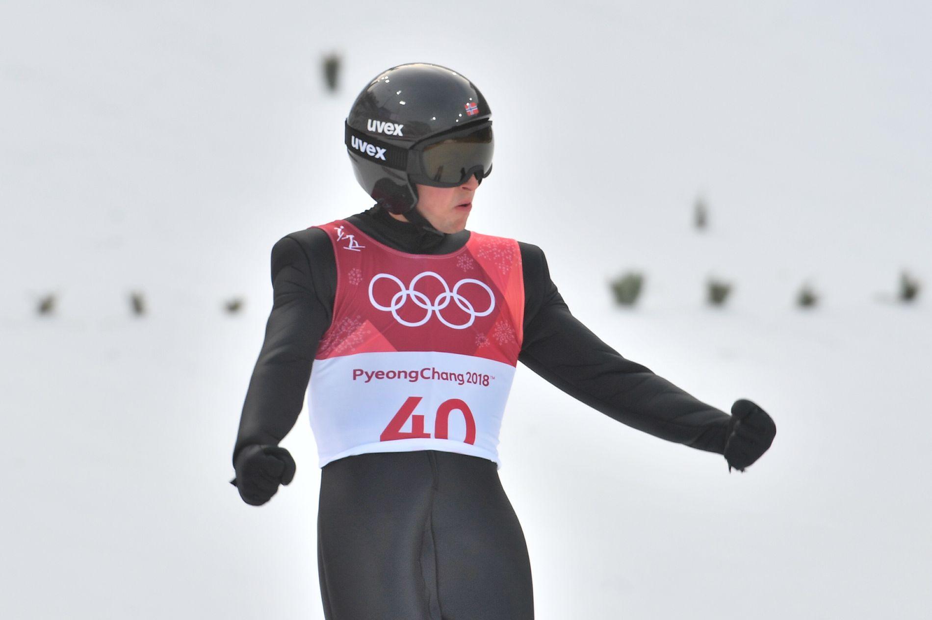 BESTE NORDMANN: Jarl Magnus Riiber imponerte i OL-debuten.