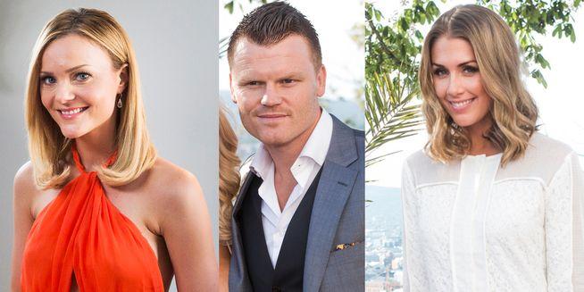 BOBLEELSKERE: Caroline Berg Eriksen, John Arne Riise og Tone Damli har til felles at de er tilsynelatende fra seg av begeistring overfor Farris.
