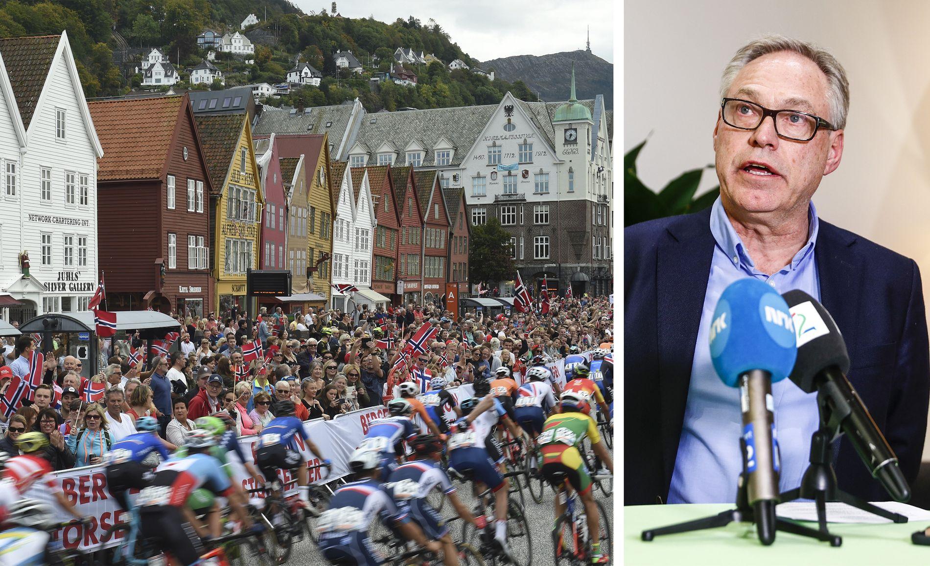KONTROVERSIELL: Harald Tiedemann Hansen satt på toppen av både sykkelforbundet og Bergen 2017 AS da VM gikk økonomisk ad undas for halvannet år siden.