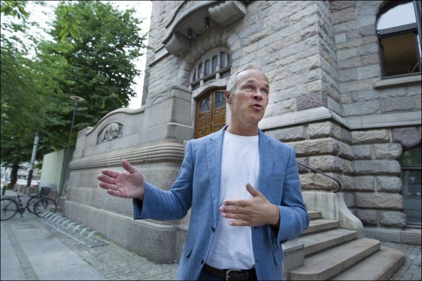 LIGGER AN TIL KOMMUNALMINISTER: Jan Tore Sanner er 1. nestleder i Høyre. Foto: Roger Neumann