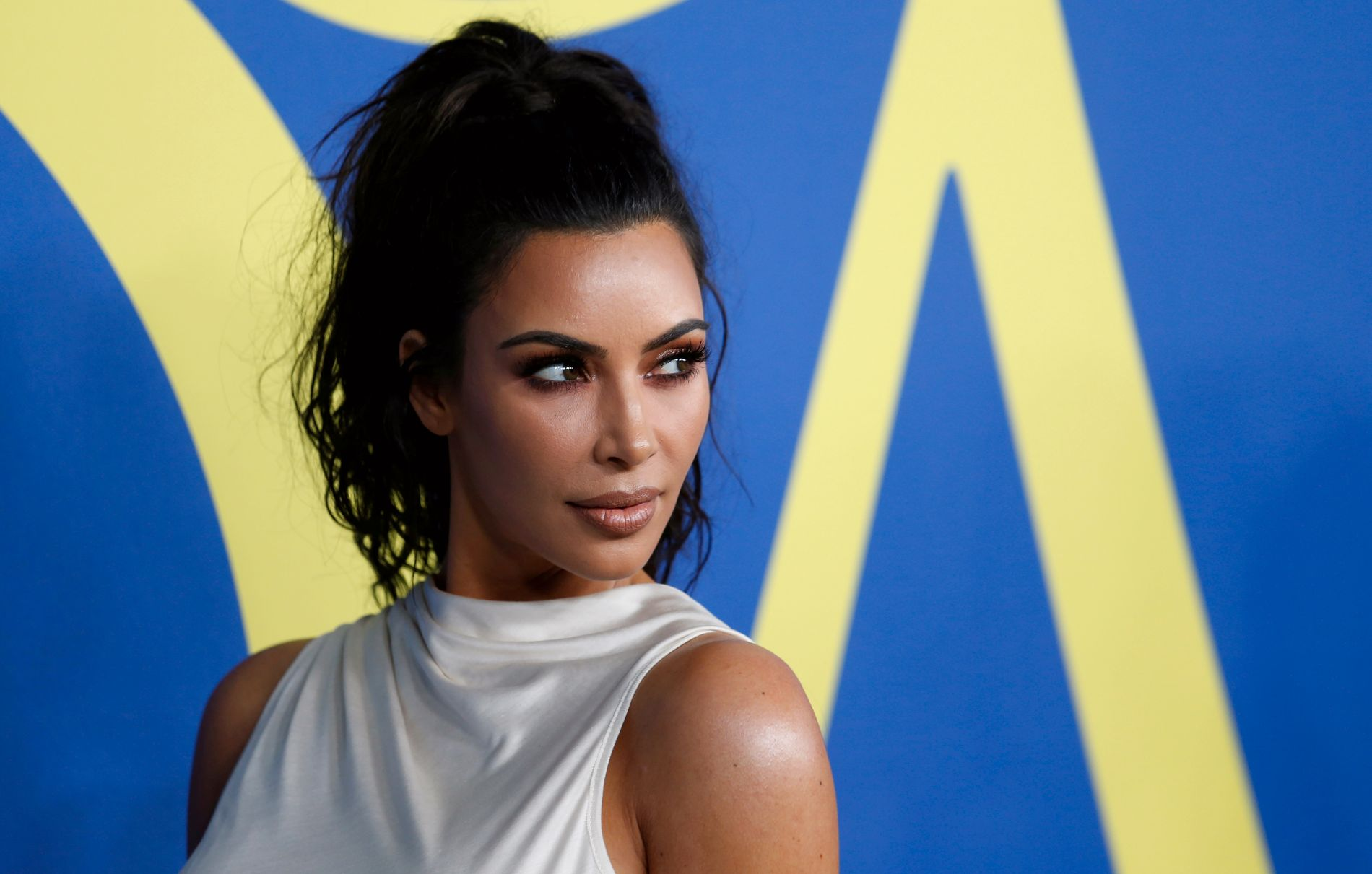 BEKYMRET: Kim Kardashian West er bekymret for søsteren Khloé, og det gir hun uttrykk for i kommende episode av «Keeping Up with the Kardashians».