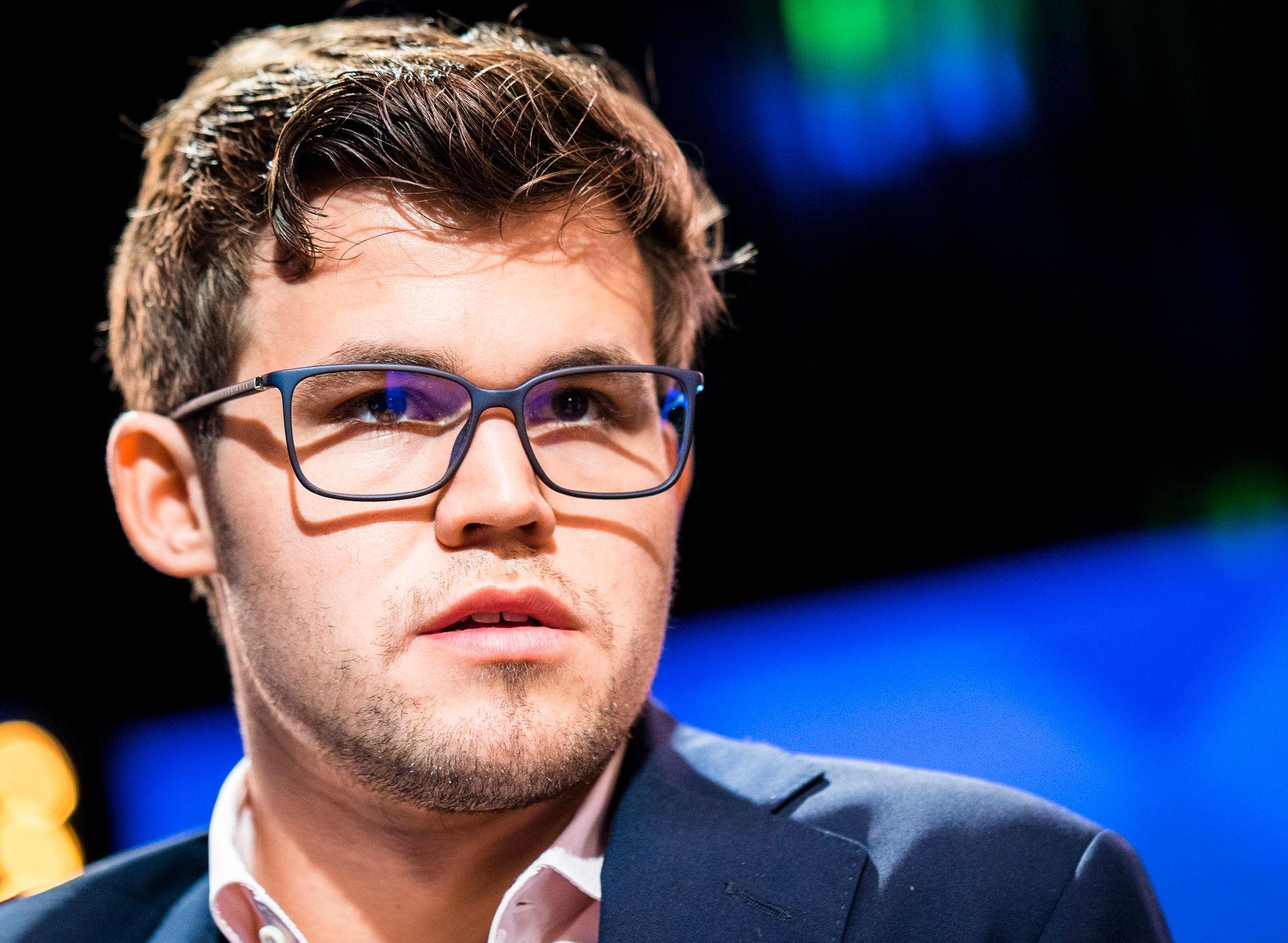 ILLE UTE: Magnus Carlsen.