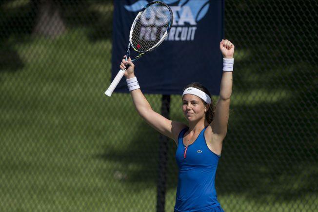TROR PÅ SERENA: Ulrikke Eikeri, her fra en turnering i Texas tidligere i august, tror mye ligger til rette for en Serena Williams-seier i US Open.