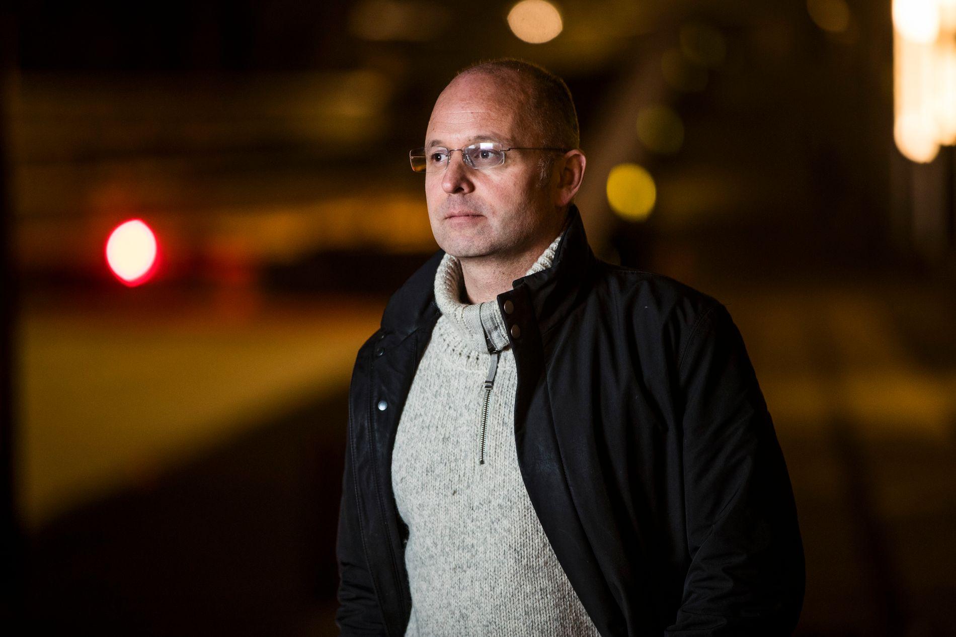 FIKK SLAG: Jørgen Christiansen (47) ble kjørt til legevakten da han ble så akutt svimmel at han måtte legge seg ned den 1. juni. Først flere timer senere kom han til Ullevål sykehus.