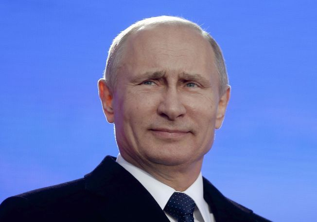 PRESIDENT: Vladimir Putin, Russland.