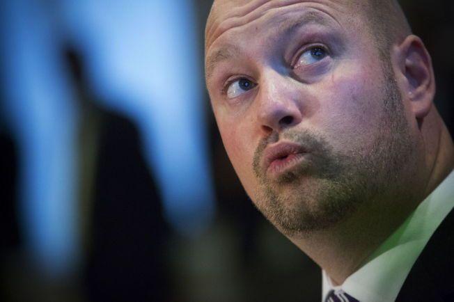 SLAKTES IGJEN: Justisminister Anders Anundsen fikk gjennomgå for manglende oppfølging av beredskap og sikkerhet av Riksrevisjonen torsdag.